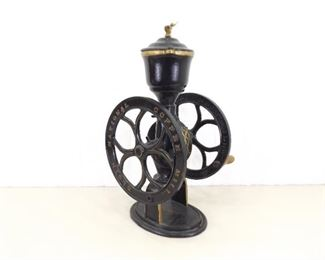 Antique Iron Elgin National Coffee Mill