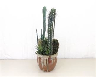 """35"""" Potted Cactus Array"""