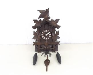 Large WORKING Black Forest Cuckoo Clock