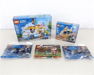 Lot of 5 NEW Unopened Lego Sets