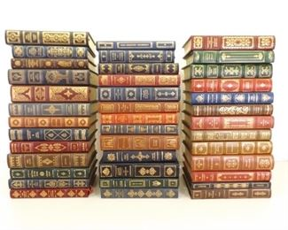 39 MINT Unread Franklin Library Leather Bound, Gold Spine Classic Books