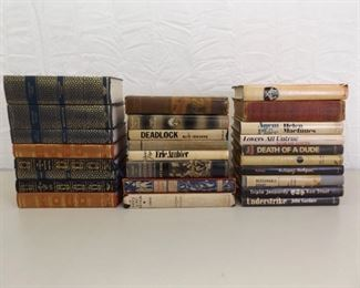 Large Lot of First Edition etc. Books