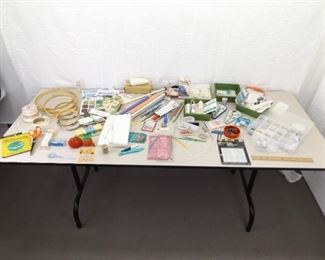 Large Lot of Sewing, Knitting, etc. Accessories