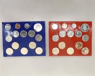 2011 Denver and Philadelphia US Uncirculated Mint Sets; $13.82 Face Value
