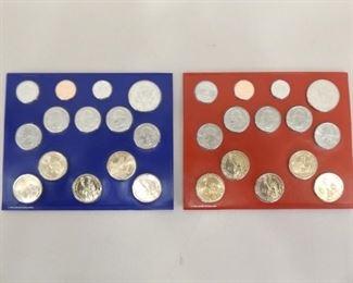 2013 Denver and Philadelphia US Uncirculated Mint Sets; $13.82 Face Value