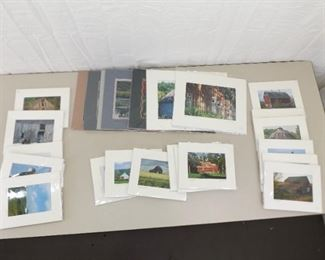 26 Matted Signed and Numbered Photos by Local Photographer Judith Riese