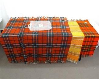 3 Vintage Faribo Wool Blankets