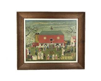 Amish Farm Art