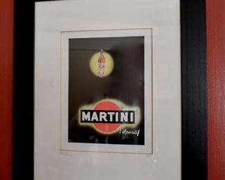 Martini vermouth advertisement