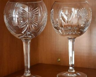 Waterford Crystal balloon goblets