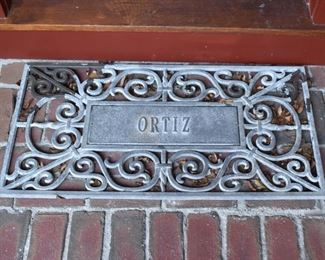 Ortiz welcome mat