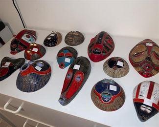 African Senegal Masks