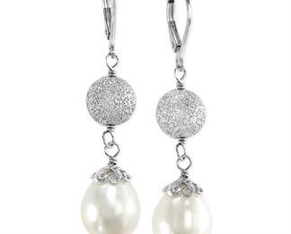 Effy Cultured Freshwater Pearl Drop Earrings