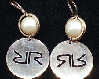 Rebecca Jewelry Goldtone Dangle Earrings
