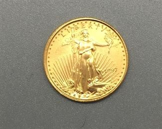 Several lots of - American Eagle $5 Gold Coins