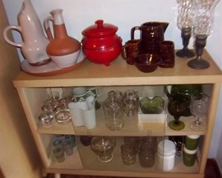 Vintage Glass, Pottery, Marcrest, etc...