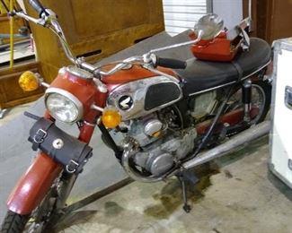 1968 Honda CD 175 E  motorcycle
