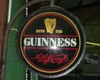 Guinness Draught Beer Bar Lighting Wall Sign