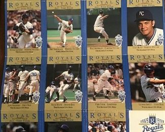 All Royals team 1969 to 1993 from Kc Star!