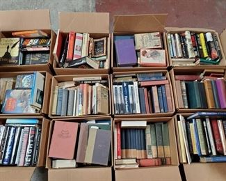 12 Boxes of Books 12 Boxes of Books