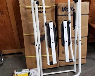 XL Glider, NIB Voit Treadmill and Gravity Rider, 7 Piece Weight Set and More XL Glider, NIB Voit Treadmill and Gravity Rider, 7 Piece Weight Set and More