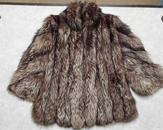 Roberts San Francisco Fur Coat Size unknown