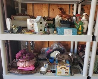 Home Decor, Doll Baby, Vintage Purses and More Miscellaneous Items Include Soap Dispenser, Countertop Decor, a Purse, 2 Doll Babys and More!
