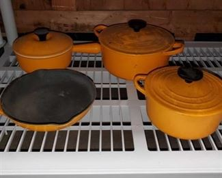 Cast Iron Pans and Pots Cast Iron Pans and Pots