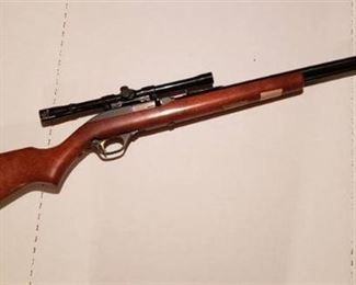 Round Up Commemorative Marlin 22 Rifle ~ Limited Edition Model 6085 w/ Glenfield 4 x 15 Scope