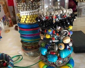 Assorted fun bangles.