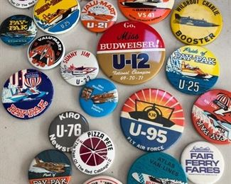Collectable Vintage SeaFair pins.