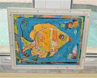 SIGNED FLORIDA ART
