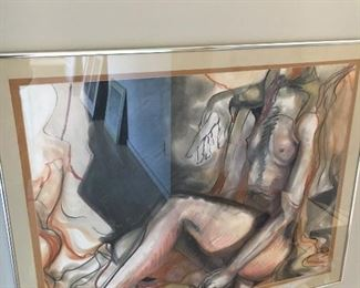 "Meredith Essex ""Nude 17581"" 30""w x 24""h asking $340"