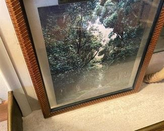 Beauifully framed photo asking $60