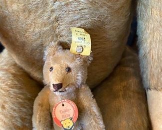baby bear also from Steiff number 7309 asking $360