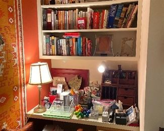 Books, desk accoutrements and more