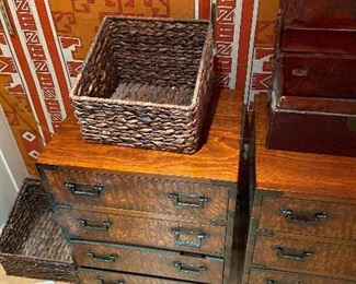 another view of the chests
