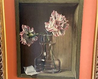 "Dennis Ramsay ""Carnations"" asking $380"