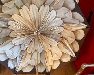 inside of the Pasotti umbrella
