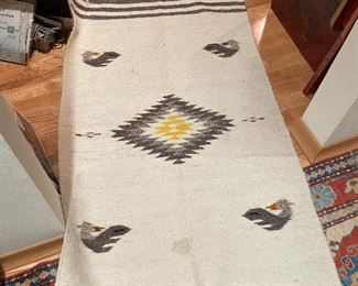 south american woven rug
