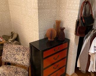 asian lacquer chest