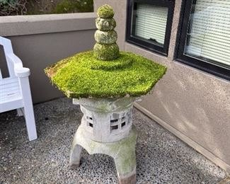 Cement pagoda for your garden