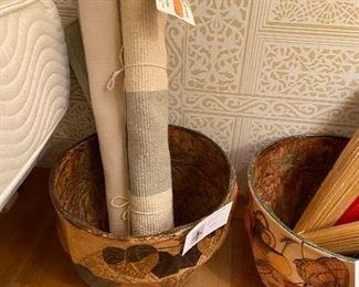 Papier Mache baskets