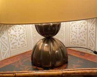 Laura Kirar Mellon Table Lamp asking $460 originally $1624