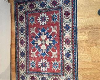 another Pakistan Kazak rug asking $180 roughy 2' x 3'