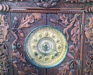 Antique Clock detail