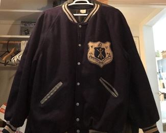 1950s Pershing Rifles Collegiate Military Award Jacket Militaria