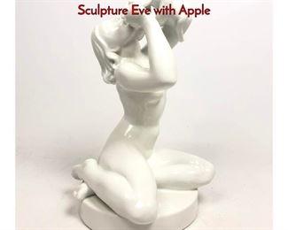 Lot 8 JENS PETER DAHL JENSEN Figural Sculpture Eve with Apple