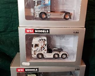 WSI 1:50 Scale Die-Cast Trucks