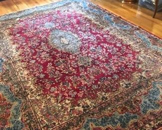 "$650- ANTIQUE PERSIAN - IRAN RUG.  - SOME EDGE WEAR & FRAYING                                                                        141"" BY 103"""